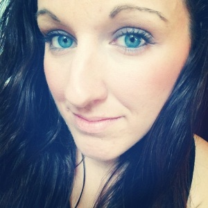 blue eyed selfie